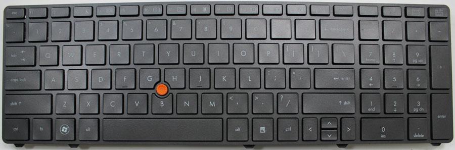 Tastatura Laptop Refurbished HP 8570p - imaginea 1