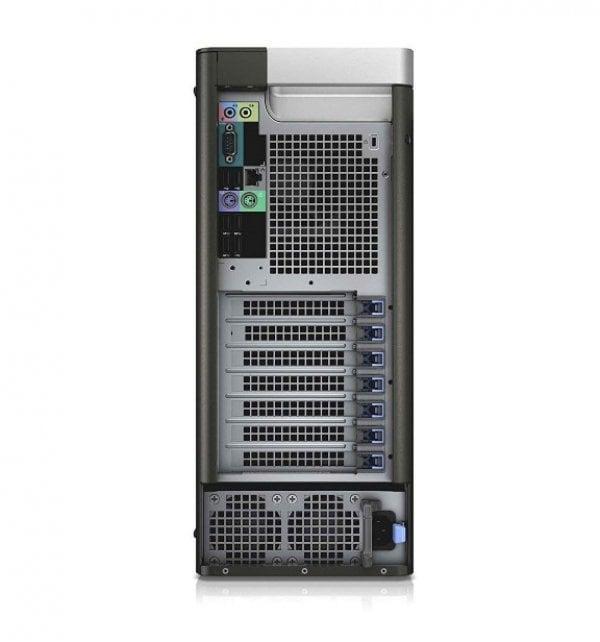Workstation DELL Precision T5810 Tower, Intel 4 Core Xeon E5-1620 v3 3.5 GHz; 32 GB DDR4 ECC; 500 GB SSD SATA; DVDRW; Placa Video nVidia Quadro K2200, 4 GB GDDR5; Windows 10 Pro; 3 Ani Garantie, Refurbished - imaginea 3