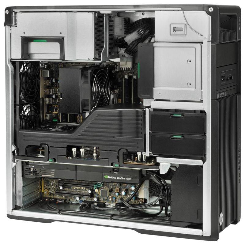 Workstation HP Z640 Tower, 2 Procesoare, Intel 18 Core Xeon E5-2697 v4 2.3 GHz, 128 GB DDR4 ECC, 128 GB SSD SATA, Placa Video nVidia Quadro M4000, 8 GB GDDR5, Windows 10 Pro, 3 Ani Garantie - imaginea 5