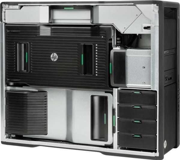 Workstation HP Z840, 2 Procesoare Intel 8 Core E5-2667 v4 3.2 Ghz, 64 GB DDR4, 500 GB SSD SATA, Nvidia Quadro M5000, 8 GB GDDR5, Windows 10 Pro; 3 Ani Garantie, Refurbished - imaginea 2
