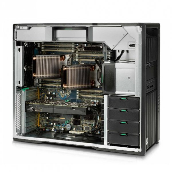 Workstation HP Z840, 2 Procesoare Intel 8 Core E5-2667 v4 3.2 Ghz, 64 GB DDR4, 500 GB SSD SATA, Nvidia Quadro M5000, 8 GB GDDR5, Windows 10 Pro; 3 Ani Garantie, Refurbished - imaginea 4