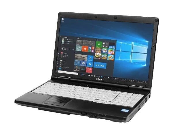 "Laptop Fujitsu Lifebook A572, Intel Core i5 Gen 3 3320M 2.6 GHz, DVD-ROM, Wi-Fi, Display 15.6"" 1366 by 768, 8 GB DDR3, 1 TB SSD SATA, Windows 10 Home, 3 Ani Garantie - imaginea 1"