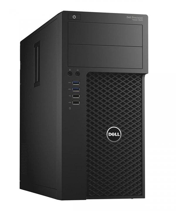 Workstation Dell Precision 3620 Tower, Intel Core i7  7 7700 3.3 GHz, 8 GB DDR4; 500 GB SSD SATA; Placa Video nVidia Quadro P600, 2 GB GDDR5; Windows 10 Pro; 3 Ani Garantie, Refurbished - imaginea 1