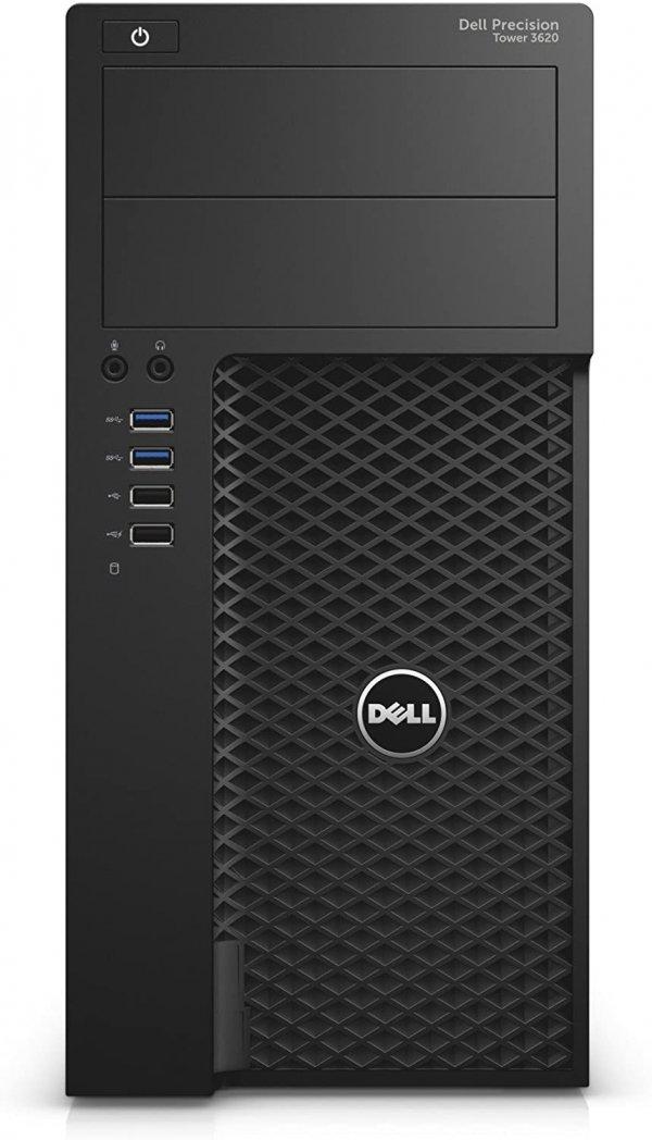 Workstation Dell Precision 3620 Tower, Intel Core i7  7 7700 3.3 GHz, 8 GB DDR4; 500 GB SSD SATA; Placa Video nVidia Quadro P600, 2 GB GDDR5; Windows 10 Pro; 3 Ani Garantie, Refurbished - imaginea 2