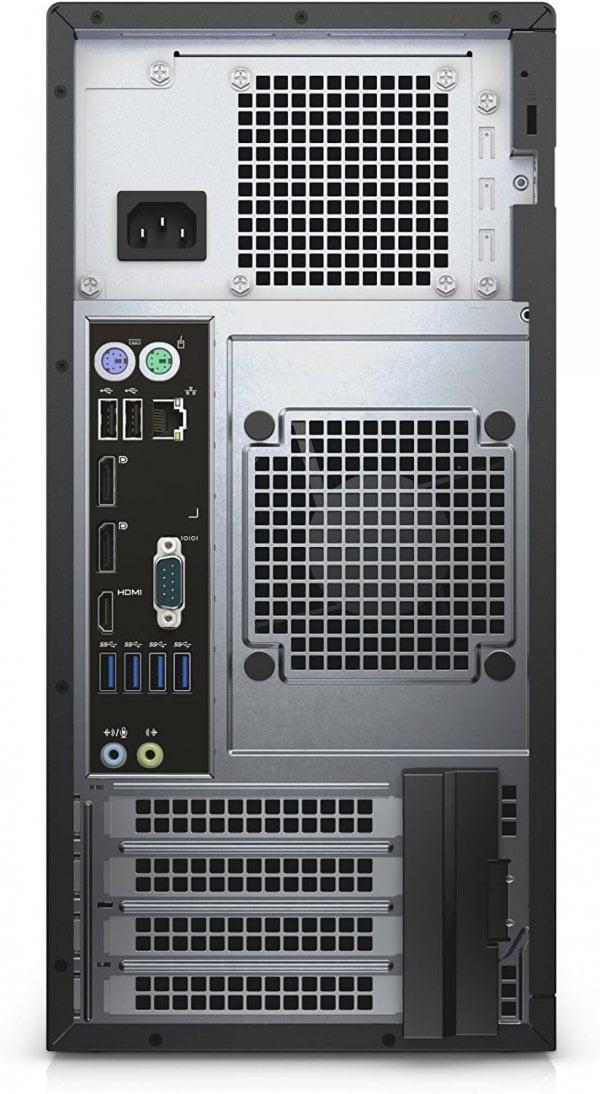 Workstation Dell Precision 3620 Tower, Intel Core i7  7 7700 3.3 GHz, 8 GB DDR4; 500 GB SSD SATA; Placa Video nVidia Quadro P600, 2 GB GDDR5; Windows 10 Pro; 3 Ani Garantie, Refurbished - imaginea 3