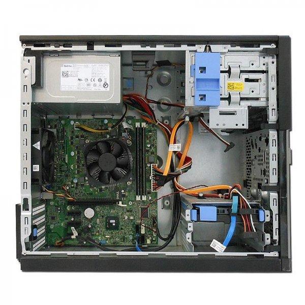 Calculator Dell Optiplex 3010, Tower, Intel Core I5 3570T 2.3 Ghz; 4 GB DDR3; 500 GB HDD SATA, Second Hand - imaginea 2