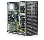 Calculator HP EliteDesk 800 G1, Tower, Intel Core i7 4790 3.6 GHz; 16 GB DDR3; 2 TB HDD SATA; DVDRW, Second Hand - imaginea 2
