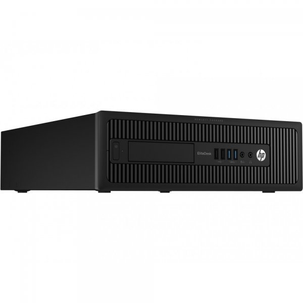 Calculator HP EliteDesk 700 G1, Desktop, Intel Core i5 4570 3.2 GHz; 4 GB DDR3; 250 GB SSD SATA; DVDRW; Windows 10 Pro; 3 Ani Garantie, Refurbished - imaginea 2