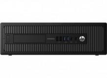 Calculator HP EliteDesk 700 G1, Desktop, Intel Core i5 4570 3.2 GHz; 4 GB DDR3; 250 GB SSD SATA; DVDRW; Windows 10 Pro; 3 Ani Garantie, Refurbished - imaginea 1