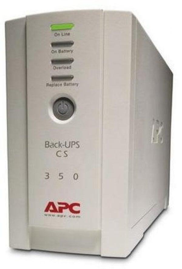 UPS APC Backup CS 350 Tower, White, Acumulator Original, 2 Ani Garantie - imaginea 1