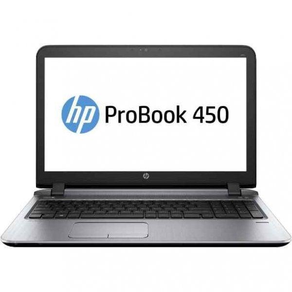 "Laptop HP ProBook 450 G3, Intel Celeron 3855U 1.6 GHz, DVDRW, Intel HD Graphics 520, WI-FI, Bluetooth, Webcam, Display 15.6"" 1366 by 768, 8 GB DDR3, 128 GB SSD SATA, Windows 10 Pro, 3 Ani Garantie - imaginea 1"