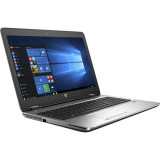 "Laptop HP Probook 650 G2, Intel Core i5 6300U 2.4 GHz, DVDRW, Intel HD Graphics 520, WI-FI, Bluetooth, Webcam, Display 15.6"" 1366 by 768, 8 GB DDR4; 250 GB SSD SATA; Windows 10 Pro; 3 Ani Garantie, Refurbished - imaginea 1"