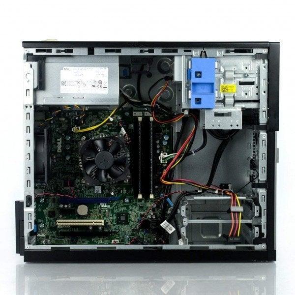 Calculator Dell Optiplex 7020, Tower, Intel Core i5 4590 3.3 Ghz; 4 GB DDR3; 128 GB SSD SATA; DVDRW, Second Hand - imaginea 2