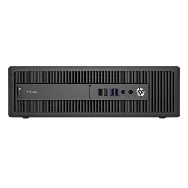 Calculator HP EliteDesk 800 G2, Desktop, Intel Core i5 6500 3.2 GHz; 8 GB DDR4; 500 GB SSD SATA; Windows 10 Pro; 3 Ani Garantie, Refurbished - imaginea 1