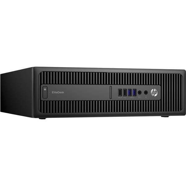 Calculator HP EliteDesk 800 G2, Desktop, Intel Core i5 6500 3.2 GHz; 8 GB DDR4; 500 GB SSD SATA; Windows 10 Pro; 3 Ani Garantie, Refurbished - imaginea 2