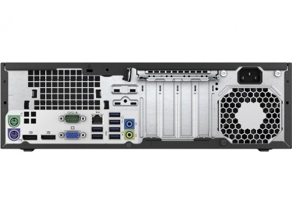 Calculator HP EliteDesk 800 G2, Desktop, Intel Core i5 6500 3.2 GHz; 8 GB DDR4; 500 GB SSD SATA; Windows 10 Pro; 3 Ani Garantie, Refurbished - imaginea 3