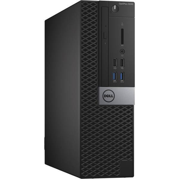 Calculator Dell Optiplex 5040, Desktop SFF, Intel Core i5 6400T 2.2 GHz; 16 GB DDR3; 500 GB SSD; DVDRW; Windows 10 Pro; 3 Ani Garantie, Refurbished - imaginea 1
