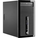 Calculator HP ProDesk 400 G1, Tower, Intel Core i7 4770 3.4 GHz; 8 GB DDR3; 250 GB SSD; DVDRW; Windows 10 Pro; 3 Ani Garantie, Refurbished - imaginea 1