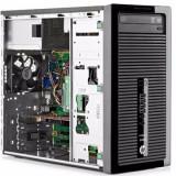 Calculator HP ProDesk 400 G1, Tower, Intel Core i7 4770 3.4 GHz; 8 GB DDR3; 250 GB SSD; DVDRW; Windows 10 Pro; 3 Ani Garantie, Refurbished - imaginea 2
