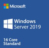 Licenta Microsoft Windows Server 2019 Standard OEM, 1pk DSP OEI DVD, 16 core, 64 bit English