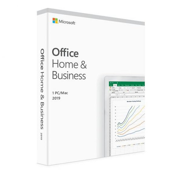 Licenta Retail Microsoft Office Home and Business 2019 English Medialess P2 - imaginea 1