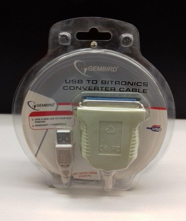 Cablu adaptor Imprimanta USB La IEEE1284/LPT - imaginea 1