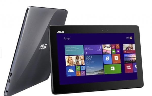"Tableta ASUS Transformer Book T100TA, Intel Quad Core Atom Z3740 1.33 GHz, 2 GB DDR3, 32 GB eMMC, WI-FI, Bluetooth, WebCam, Display IPS 10.1"" 1368 by 768, Touchscreen - imaginea 1"