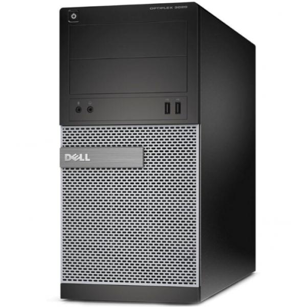 Calculator Dell Optiplex 3020, Tower, Intel Core i5 4670 3.4 Ghz; 4 GB DDR3; 500 GB HDD SATA; DVDRW; Windows 10 Pro; 3 Ani Garantie, Refurbished - imaginea 1