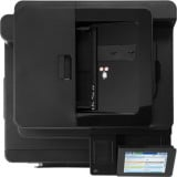 Imprimanta multifunctionala LaserJet Enterprise Color HP Flow M880 MFP, A3, 25.000 pagini/luna, 1200 x 1200 DPI, Duplex, USB, Fax, Network, TouchScreen, ADF, Scanner, Pagini printate 100.000 - 200.000, 2 Ani Garantie, Refurbished - imaginea 4