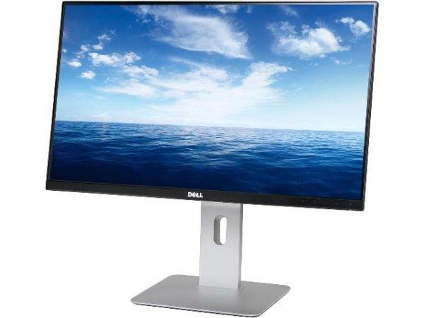 Monitor 24 inch LED, IPS, DELL U2414H, Black & Silver, Display Defect - imaginea 1