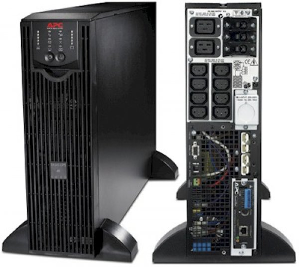 UPS APC Smart RT 6000 SURT6000XLI USV Black, Acumulatori Noi, Management Card, 2 ANI GARANTIE - imaginea 1