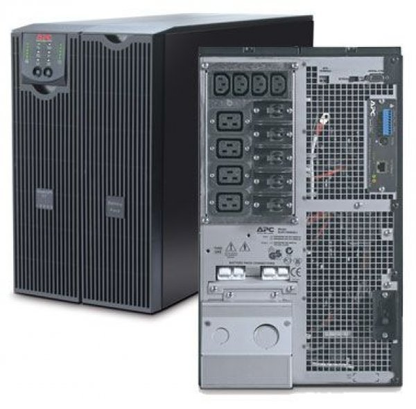 UPS APC Smart RT 8000 SURT8000XLI USV Black, Acumulatori Noi, Management Card, 2 ANI GARANTIE - imaginea 1