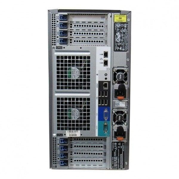 Server Dell PowerEdge T620, 2 Procesoare Intel 8 Core Xeon E5-2650 v2 2.6 GHz, 64 GB DDR3 ECC, 4 TB HDD SAS, 2 Ani Garantie - imaginea 3