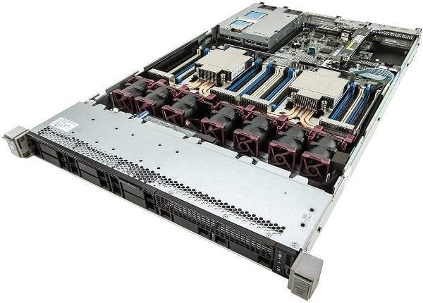 Server HP ProLiant DL360 G9, 2 Procesoare, Intel 12 Core Xeon E5 2690 v3 2.6 GHz, 64 GB DDR4, 2 x 1 TB SSD, 4 Ani Garantie - imaginea 2
