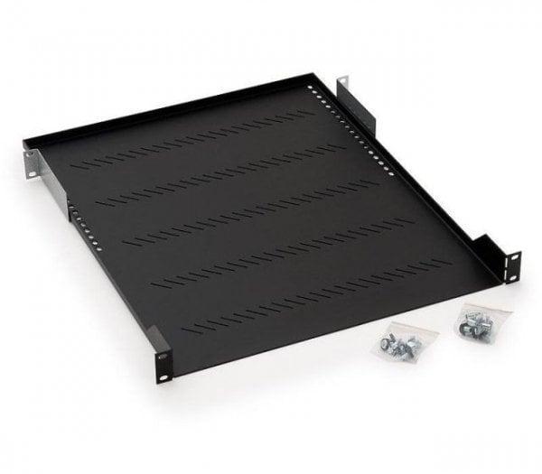 Raft Fix cabinet Rack Server 1U/750, Max 40Kg, Negru/Gri - imaginea 1