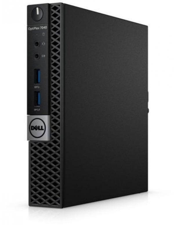 Calculator Dell Optiplex 7040, Micro, Intel Core i5 6500T 2.5 Ghz, 4 GB DDR4, 500 GB SSD SATA, Windows 10 Pro, 3 Ani Garantie - imaginea 2
