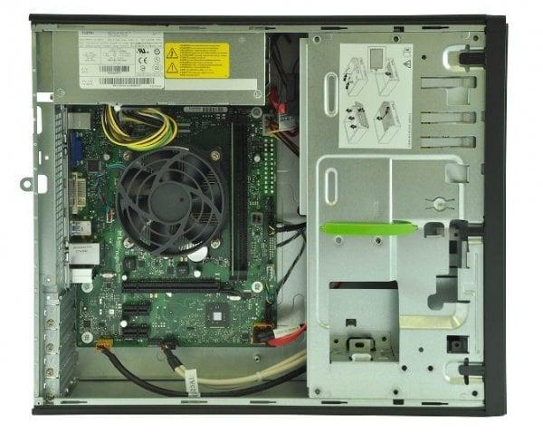 Calculator Fujitsu Esprimo E420, Desktop, Intel Core i3 4150 3.5 Ghz; 4 GB DDR3; 500 GB HDD SATA, Second Hand - imaginea 2