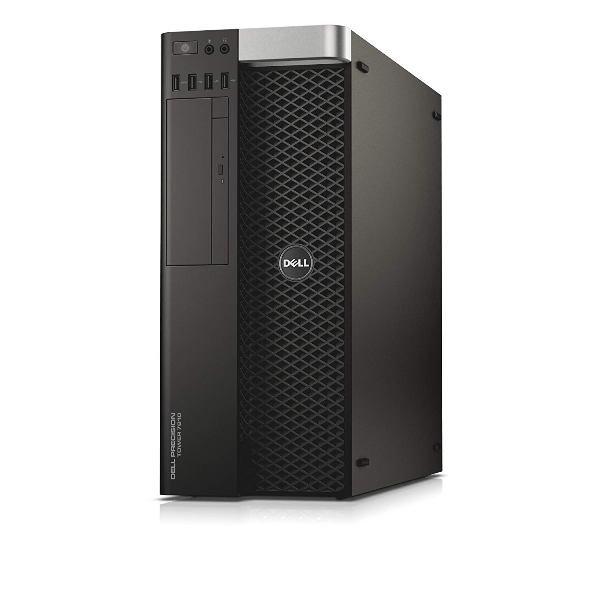 Workstation Dell T7810, Tower, 2 Procesoare Intel 12 Core Xeon  E5-2678 v3 2.5 GHz; 128 GB DDR4 ECC; 500 GB HDD SATA; Placa Video nVidia Quadro M4000, 8 GB GDDR5; Windows 10 Pro; 3 Ani Garantie, Refurbished - imaginea 1