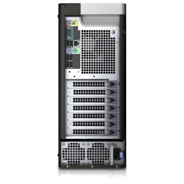Workstation Dell T7810, Tower, 2 Procesoare Intel 12 Core Xeon  E5-2678 v3 2.5 GHz; 128 GB DDR4 ECC; 500 GB HDD SATA; Placa Video nVidia Quadro M4000, 8 GB GDDR5; Windows 10 Pro; 3 Ani Garantie, Refurbished - imaginea 4