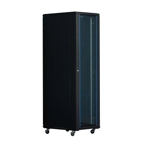 Cabinet Rack Server, Nou, CTG, 42U 80120M , Negru, Usa Fata Sticla - imaginea 1