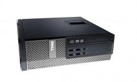Calculator Dell Optiplex 9020, Desktop SFF, Intel Core i5 4590 3.3 Ghz; 4 GB DDR3; 1 TB SSD SATA; DVDRW; Windows 10 Home; 3 Ani Garantie, Refurbished - imaginea 1