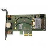 Placa Retea DELL DW1520, Broadcom943224HMS, Wireless Standards: IEEE 802.11bgn, Pci-e 1x, Lipsa Antena