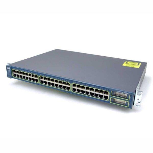 Switch Cisco 48 Port , WS-C2950G-48-EI - imaginea 1