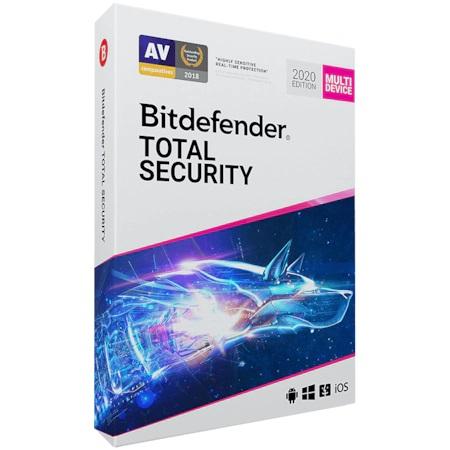 Licenta Retail Bitdefender Total Security, 1 An, 10 Dispozitive - imaginea 1