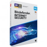 Licenta Retail Bitdefender Internet Security, 1 An , 1 Dispozitiv