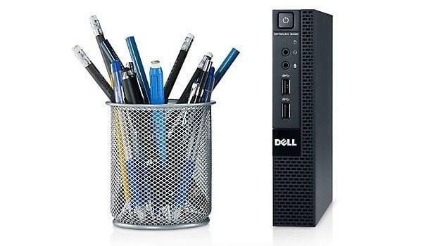 Calculator Dell Optiplex 9020 Micro, Intel Core i5 Gen 4 4590T 2.0 GHz, 4 GB DDR3, 250 GB SSD SATA, Windows 10 Pro, 3 Ani Garantie - imaginea 1