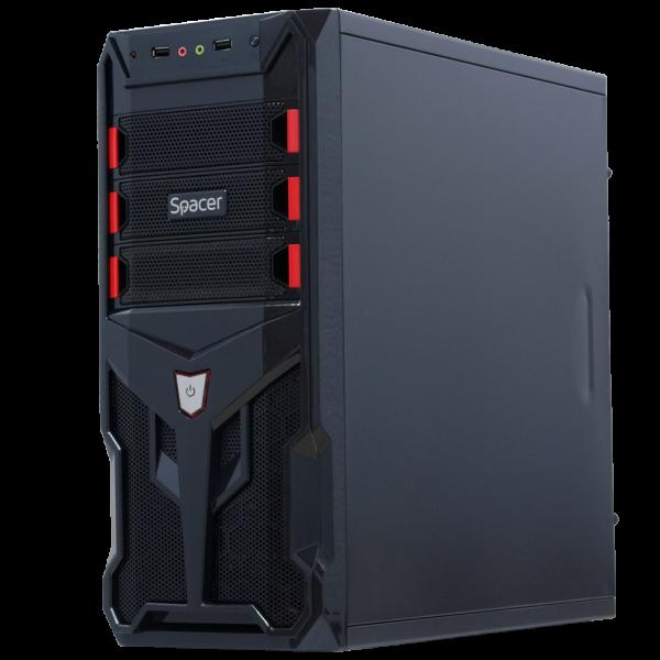 Calculator Nou CTG2, Tower, Intel Core i5 4590 3.3 Ghz; 4 GB DDR3; 250 GB SSD SATA; Windows 10 Home; 3 Ani Garantie, Noi - imaginea 2