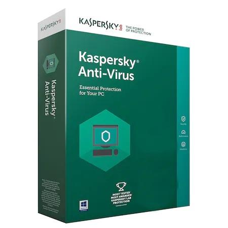 Licenta Retail Kaspersky Anti-Virus, 1 An , 1 Dispozitiv - imaginea 1