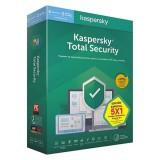 Licenta Retail Kaspersky Total Security, 1 An , 1 Dispozitiv