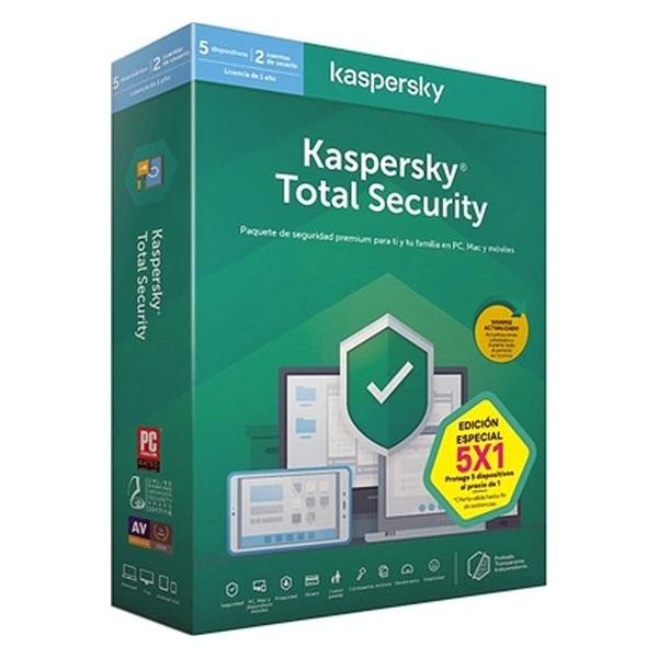 Licenta Retail Kaspersky Total Security, 1 An , 1 Dispozitiv - imaginea 1
